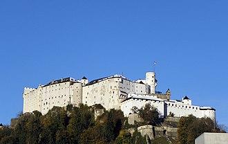 Hohensalzburg Castle - Hohensalzburg Castle in Salzburg, Austria