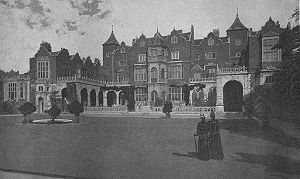 John Thorpe - Image: Holland House from The Queen's London (1896)