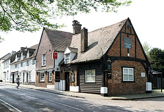 Elstree - Holly Bush public house (15th century)