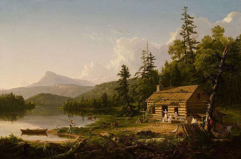 File:Home in the Woods 1847 Thomas Cole.jpeg