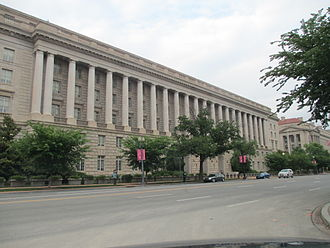 Internal Revenue Service - IRS Building in Washington D.C.