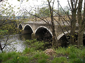 Horbury - Bridge over the River Calder