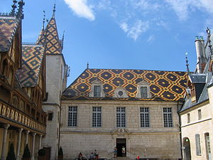 Hospices de Beaune, Bourgogne, France.