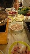 Hot pot en el restaurante Tack Hsin (1376135042) Tsim Sha Tsui, Yau Tsim Mong, Hong Kong.jpg