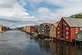 Houses on Nidelva Riverfront, Trondheim, West view 20150605 1.jpg