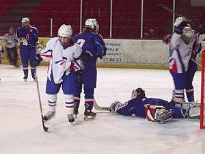 France women's national ice hockey team - France-Slovakia at Briançon (28 August 2008)