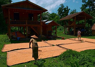 Shan State - Houses in Hsipaw