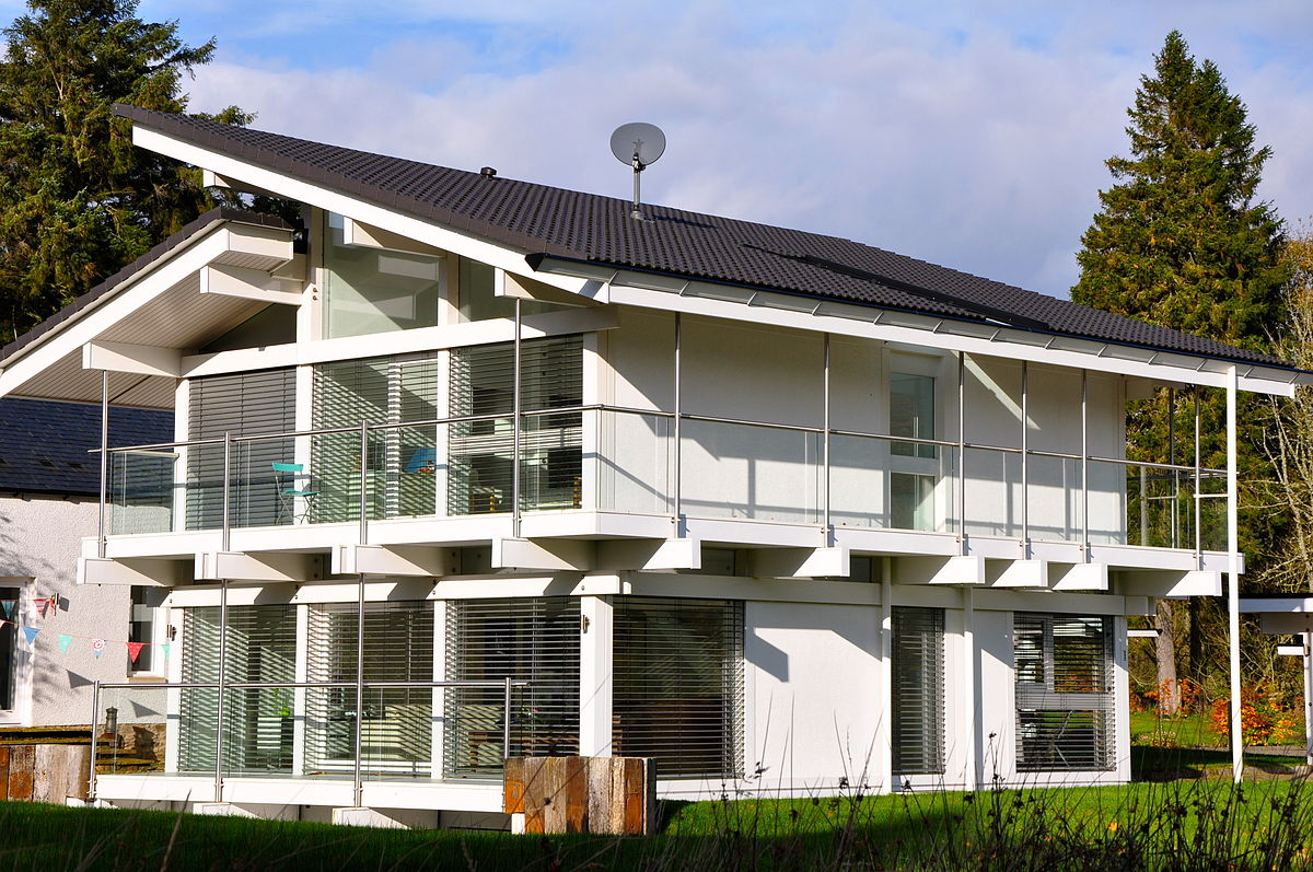 Huf haus wikipedia for Small house design germany