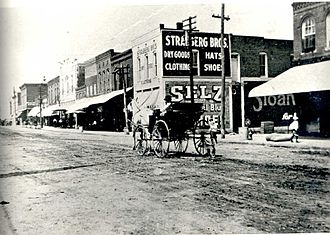Humboldt, Tennessee - Downtown Humboldt in 1901