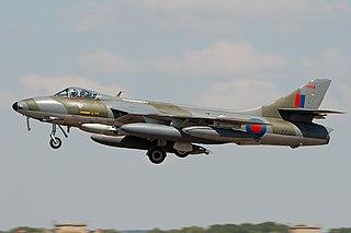 Hawker Hunter aircraft
