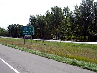 Saskatchewan Highway 1 - White City At Sk Hwy 48