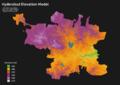 Hyderabad Elevation Model.png