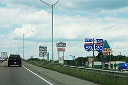 I-20 East I-59 North - US11 US80 MS19 To US45 - Red Hot Meridian (26953469657).jpg