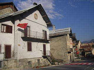 Argentera Comune in Piedmont, Italy