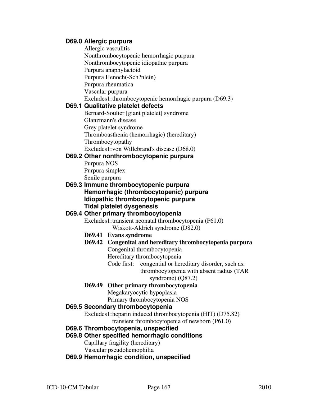 Page:ICD-10-CM (2010) djvu/167 - Wikisource, the free online