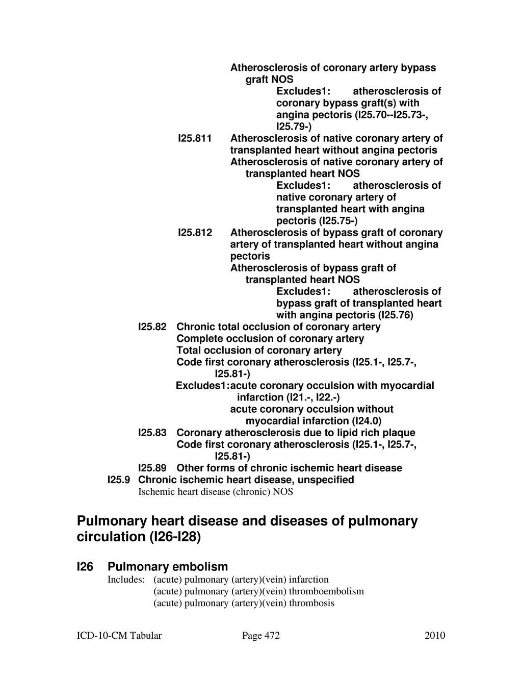 icd 10 code for coronary artery disease with angina pectoris