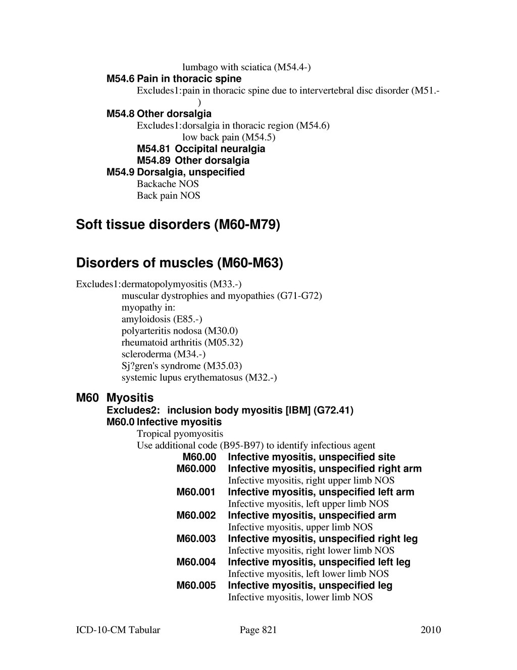 Page:ICD-10-CM (2010) djvu/821 - Wikisource, the free online