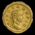 INC-1878-a Ауреус. Кар. Ок. 284 г. (аверс).png