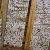 interieur, plafondschildering (balken en planken), detail - leeuwarden - 20279521 - rce