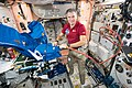 ISS-53 Paolo Nespoli works inside the Unity module.jpg