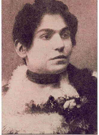 Emilio Salgari - Ida Peruzzi, wife of Salgari