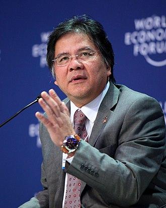 Idris Jala - Idris Jala at the World Economic Forum on East Asia in 2012.