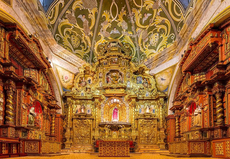 Iglesia de Santo Domingo, Quito, Ecuador, 2015-07-22, DD 202-204 HDR
