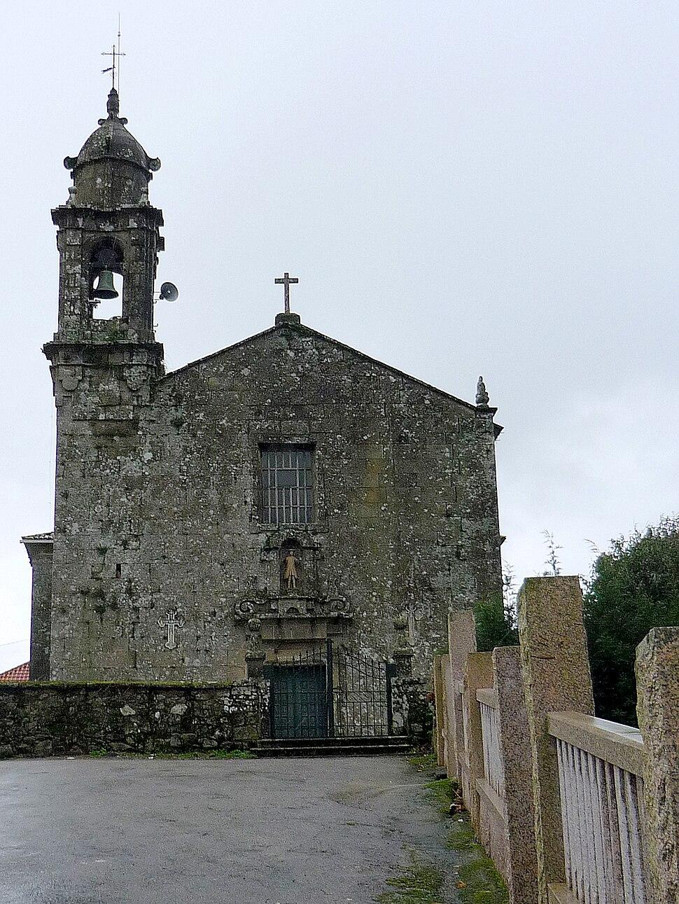 Igrexa de San Xián de Laíño.