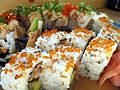 Ikki Sushi Kingston and Midland rolls.jpg