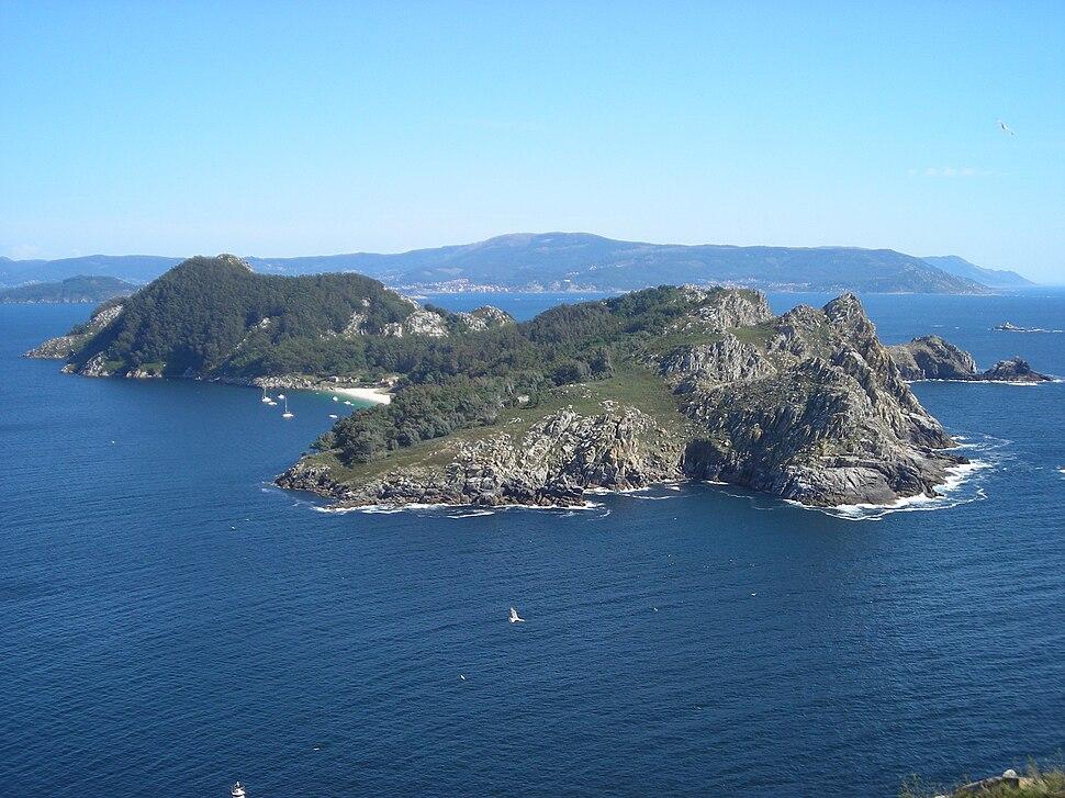Illa de San Martiño, Cíes.