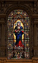 Immaculate heart virgin mary catedral cordoba
