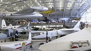 Aviation museum in Cambridgeshire, England