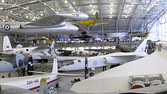 Imperial War Museum Duxford - The AirSpace exhibition hall (2009)