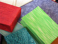 India - Colours of India - hand-made paper bags (2749398296).jpg