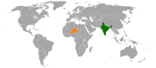 India–Niger relations Diplomatic relations between the Republic of India and the Republic of the Niger