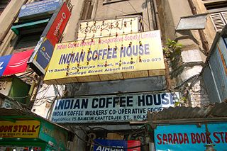 College Street Coffee House Cafe in Kolkata, India