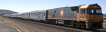 Der Indian Pacific in Perth Midland Station, 2006