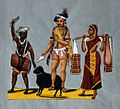 Indian travelling entertainers with animal Wellcome V0045390.jpg