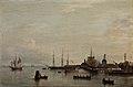 Indsejlningen til København 1838, T. Kloss.jpg