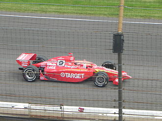 IndyCar Series - G-Force GF05 IRL car that Juan Pablo Montoya drove to victory with at the 2000 Indianapolis 500.