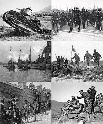 Rif War - Image: Infobox collage for Rif War