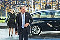 Informal meeting of economic and financial affairs ministers (ECOFIN). Arrivals Philip Hammond (37083574092).jpg