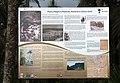 Information wall on the history of Roca Porto Alegre, Sao Tome and Principe.jpg