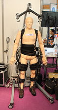 Innorobo 2015 - Lissi - Biomechanical legs.JPG