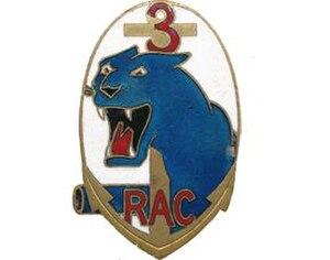 3rd Marine Artillery Regiment - Image: Insigne régimentaire du 3e Régiment d'Artillerie Coloniale