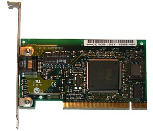 Fast Ethernet - Intel PRO/100 Fast Ethernet NIC, a PCI card