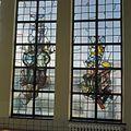 Interieur, trappenhuis, glas in loodraam - Egmond aan Zee - 20361275 - RCE.jpg