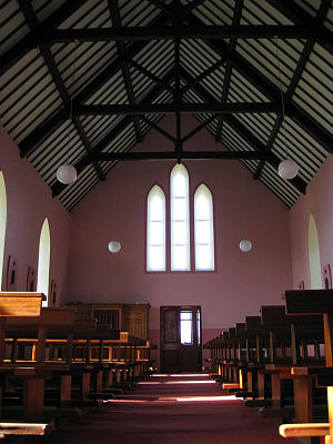Liscannor - Interior of Moymore Church
