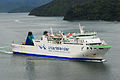 Interislander MEV Aratere prior to lengthening 20100122 2.jpg