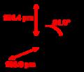 Iodine-pentafluoride-gas-2D-dimensions.png